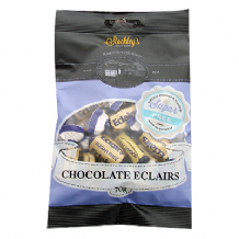 Stockleys Sugar Free Chocolate Eclairs 70g